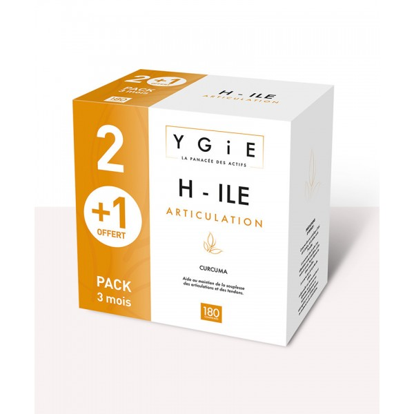Ygie h-ile articulations 180 comprimés