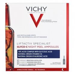 Vichy liftactiv specialist glyco-C peeling nuit 30 ampoules
