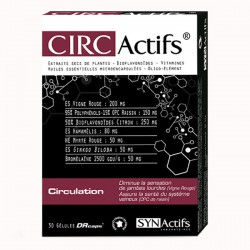 Synactifs circactifs circulation 30 gelules