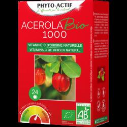 Phyto-actif acerola bio 1000 24 comprimés