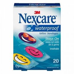 3M nexcare tattoo waterproof bandages
