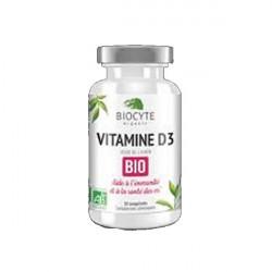 Biocyte vitamine d3 bio 30 comprimés