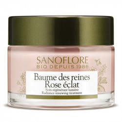 Sanoflore baume des reines rose éclat bio 50ml