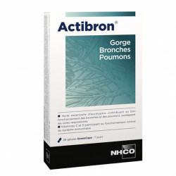Nhco actribon gorge bronches poumons 28 gelules
