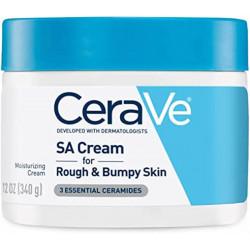 CeraVe crème sa pour peaux rugueuses et bosselées 340g