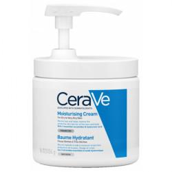 CeraVe baume hydratant pot pompe 454g