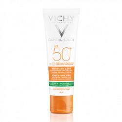Vichy capital soleil matifiant 3-en-1 spf50+ 50ml