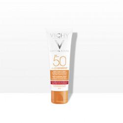 Vichy capital soleil soin anti-age antioxydant 3-en-1 sp50 50ml