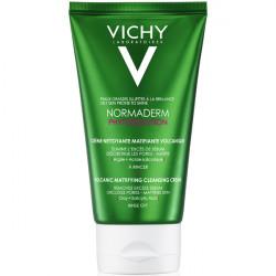 Vichy normaderm phytosolution crème nettoyante matifiante volcanique 125ml