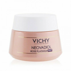 Vichy neovadiol rose platinium crème nuit éclat repulpante 50ml