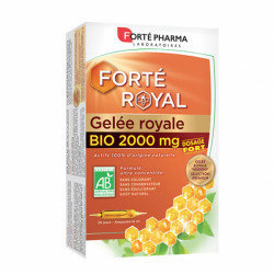 FORTE GELEE ROYALE BIO 2000MG 20X10ML