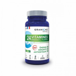 Granions 24 vitamines minéraux et plantes 90 comprimés