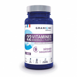 Granions 22 vitamines minéraux et plantes 90 comprimés