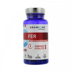 Granions fer énergie et vitalité 60 gélules
