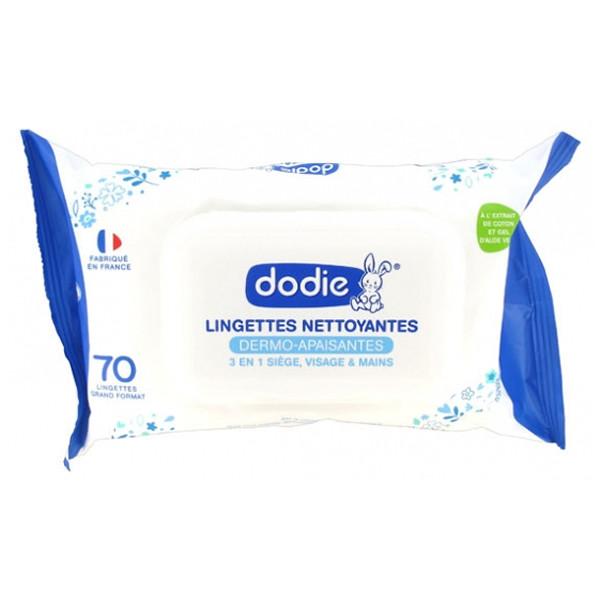 DODIE LINGETTES NETT 3EN1 X70
