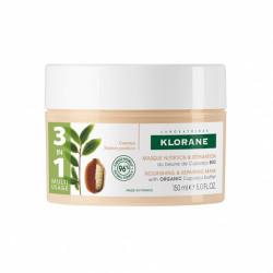 Klorane masque réparateur au beurre de cupuaçu bio 150ml