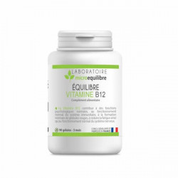 Microequilibre vitamine b12 méthylcobalamine 90 gélules
