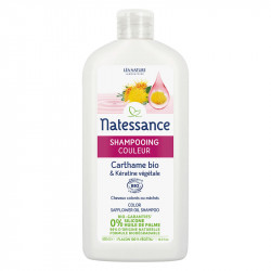 NATESS CARTHAME BIO SHP COULEUR 500ML