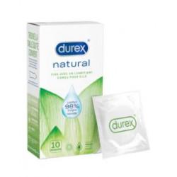 Durex Préservatif Natural - 10 préservatifs