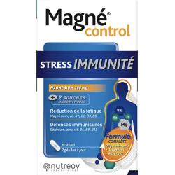 Nutréov Magné Control Stress Immunité 30gélules