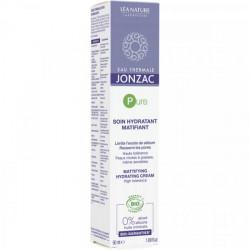 Jonzac pure crème hydratante matifiante bio 50ml