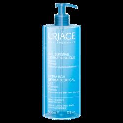 Uriage eau thermale gel surgras dermatologique 500ml