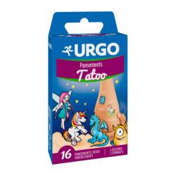 URGO PANS TATOO BT/16