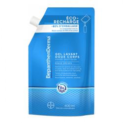 Bepanthen derma éco-recharge gel lavant doux corps 400ml