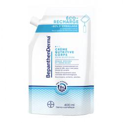Bepanthen derma éco-recharge crème nutritive corps 400ml