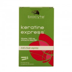 Biocyte kératine express anti-chute express 10 sticks de 6g