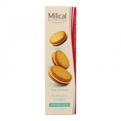 Milical nutrition saveur coco 12 biscuits