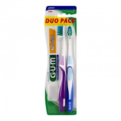 Gum actival brosse à dents 1583 medium duo pack