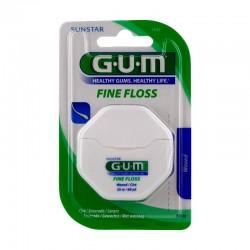 Gum fine floss fil dentaire fin ciré 55m