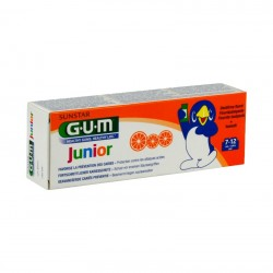 Gum junior dentifrice 7-12ans 50ml
