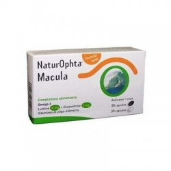 Horus pharma naturophta macula 30 gélules + 30 capsules
