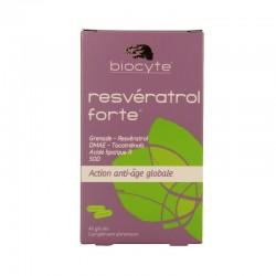 Biocyte résveratrol forte action anti-âge 40 gélules