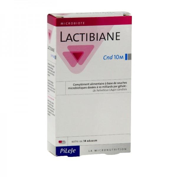 Pilèje lactibiane cnd 10m 14 gélules