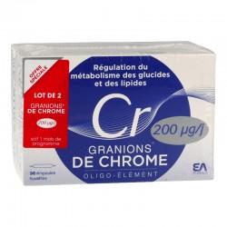 Granions de chrome 60 ampoules
