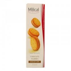 Milical nutrition saveur café 12 biscuits