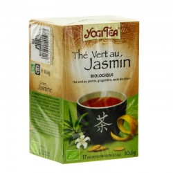 Yogi tea thé vert au jasmin 17 sachets