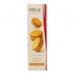 Milical nutrition noisette 12 biscuits