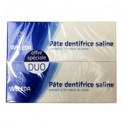 Weleda pate dentaire saline duo 2 x 75ml