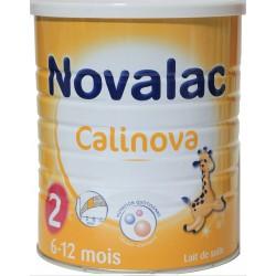 Novalac lait calinova 2ème âge 6 à 12 mois 800g