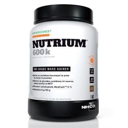 Nh-co nutrium 600k pro grade mass gainer chocolat 1kg
