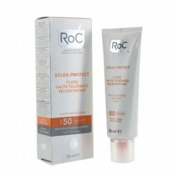Roc fluide haute tolérance réconfortant spf 50+ 50ml