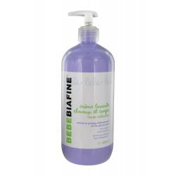 Bebebiafine crème lavante corps et cheveux 500 ml