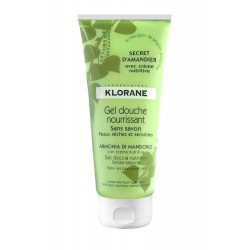 Klorane gel douche nourrissant secret d'amandier 200ml
