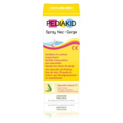 Pediakid spray nez-gorge 2 embouts 20 ml