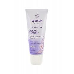 Weleda bébé derma crème protectrice visage à la mauve blanche 50 ml