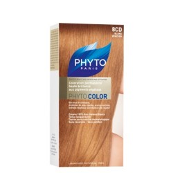 Phyto color coloration soin permanente haute brillance aux pigments végétaux blond venicien
